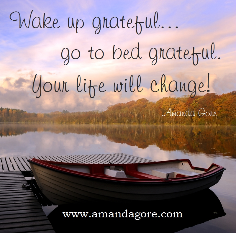 wake up grateful