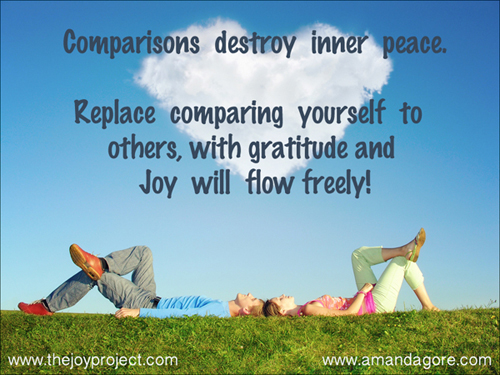 Comparisons destroy inner peace 2