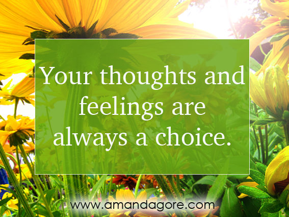 Your thoughts and feelings