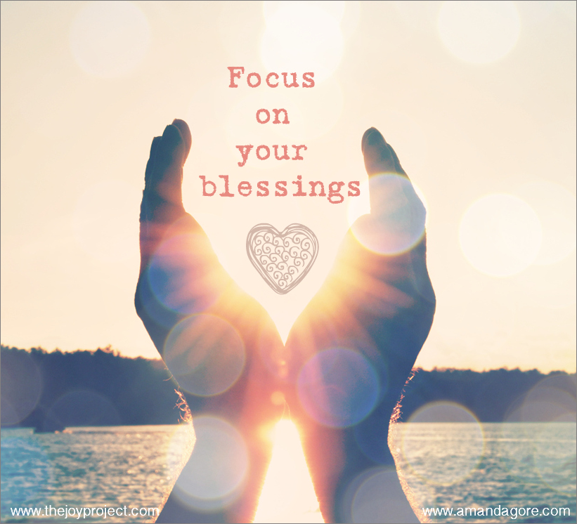 #SH Focus on your blessings
