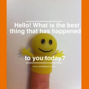 Endorphin finger puppet